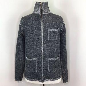 Robert Graham Gray Zipper Sweater
